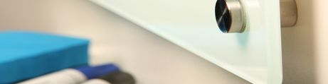 Tableau en verre blanc clair